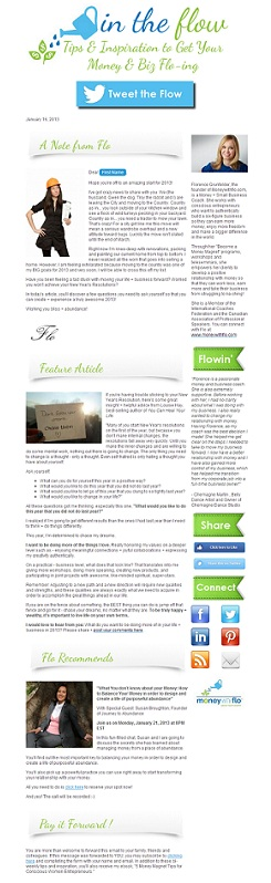 Ezine template after